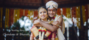 the wedding of Chandana Bharath